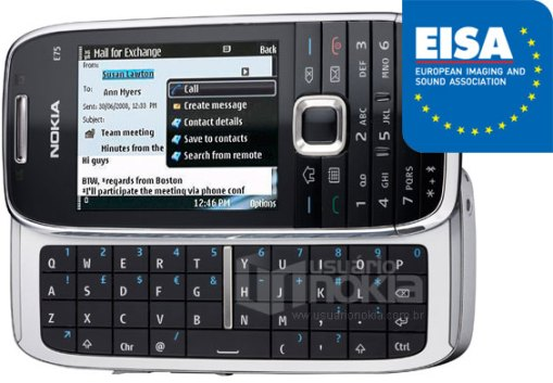 EISA-Awards-2009-2010-European-Business-Phone-Nokia-E75